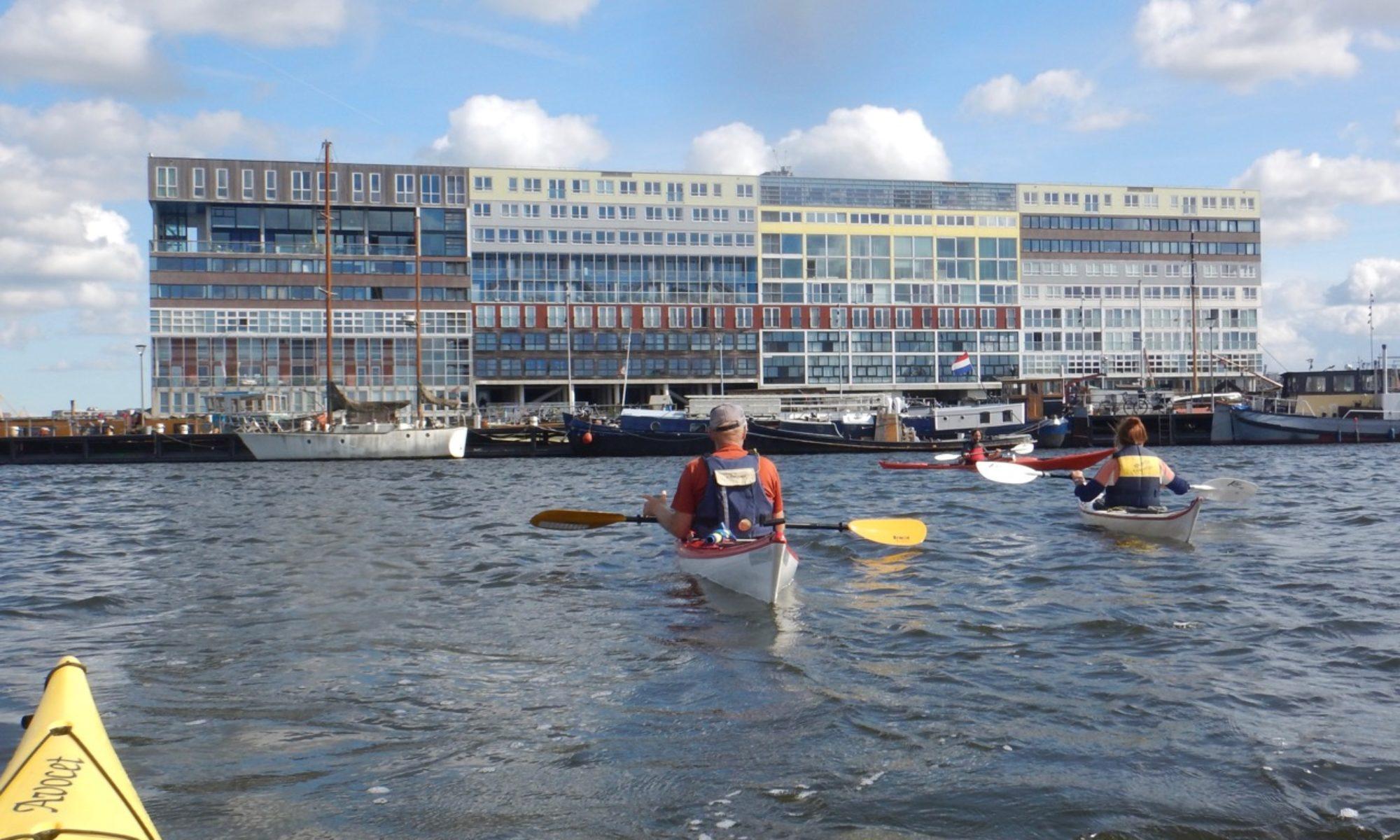 Kano op IJburg